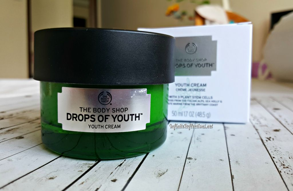 body shop drops of youth cream