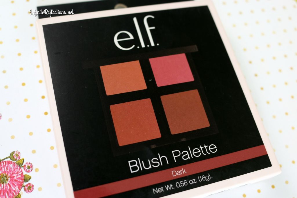 Elf Blush Palette Dark Review Swatches Infinite