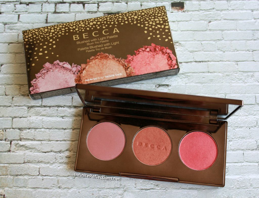 becca blushed with light