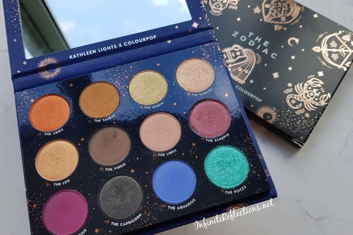colourpop zodiac kathleen lights palette