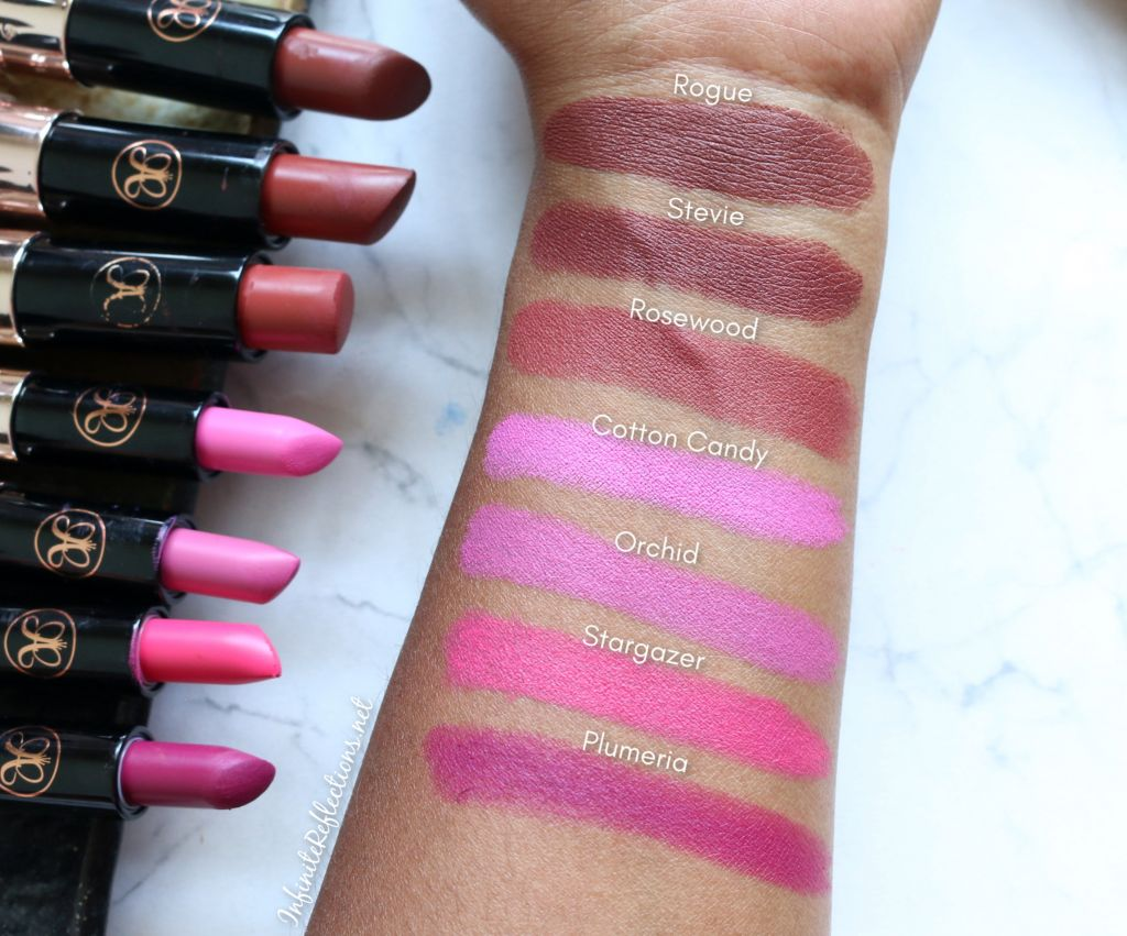 abh matte lipstick swatches