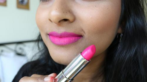 Maybelline Loaded Bolds - Fierce Fuschia - Closeup