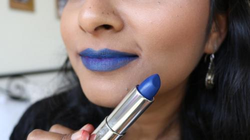 Maybelline Loaded Bolds - Audacious Blue - Closeup
