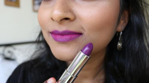 Maybelline Loaded Bolds - Fearless Purple - Closeup